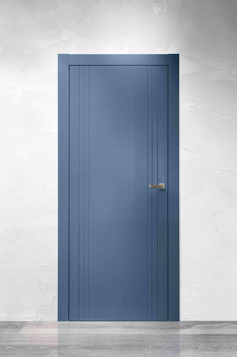 Dvere LINEA 6 – laccato indaco